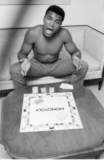 , 'Muhammad Ali, Monopoly, Louisiville, KY,' 1963, Atlas Gallery