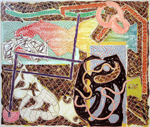 Frank Stella, 'Shards II', 1982, Kunzt Gallery