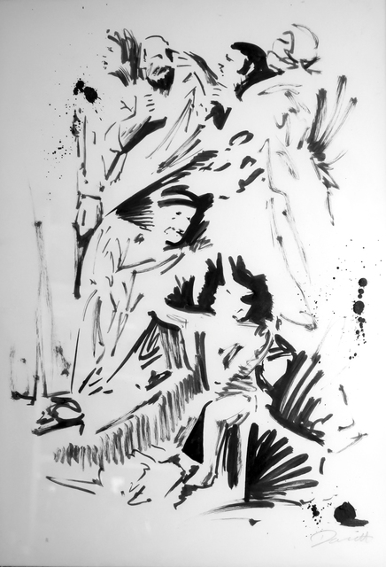 , 'Figurative Group (after Poussin's Triumph of David),' 2017, Dellasposa