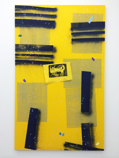 , 'Eff (Yellow),' 2016, Romer Young Gallery