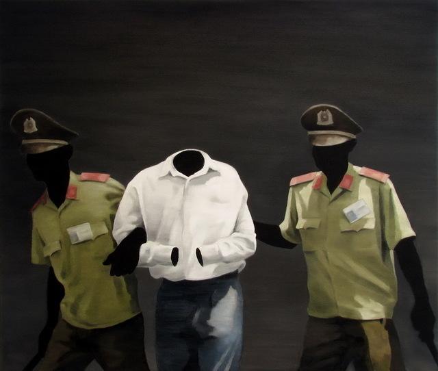, 'Black Painting No.85,' 2009, Primae Noctis Gallery
