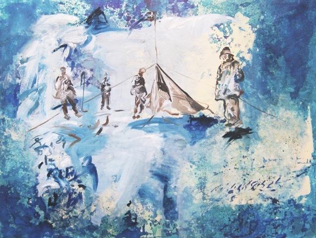 , 'Expedición en azul / Expedition in blue ,' 2018, Artflow Galeria