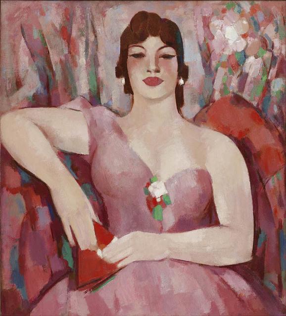 JD Fergusson, 'Martha in Pink', 1953, Portland Gallery