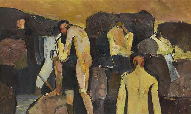 , 'Bathers at Collioure,' 1958, Osborne Samuel
