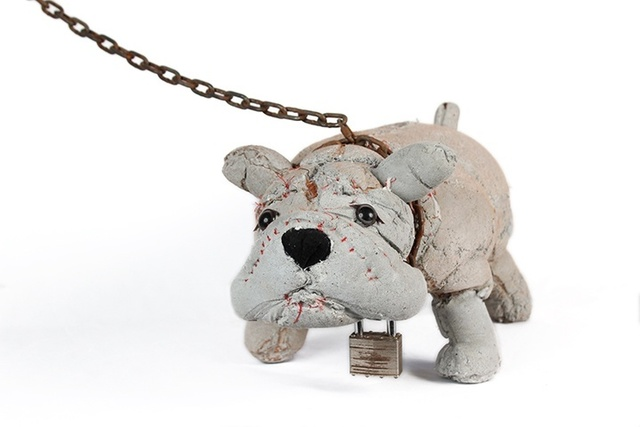 , 'Bulldog c596,' 2016, Rebecca Hossack Art Gallery
