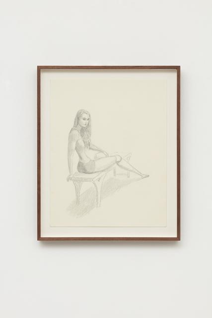 ", 'Study for ""The Locker Room"",' 2015, NINO MIER GALLERY"