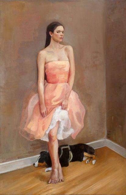 , 'Pink Dress,' 2015, Andra Norris Gallery