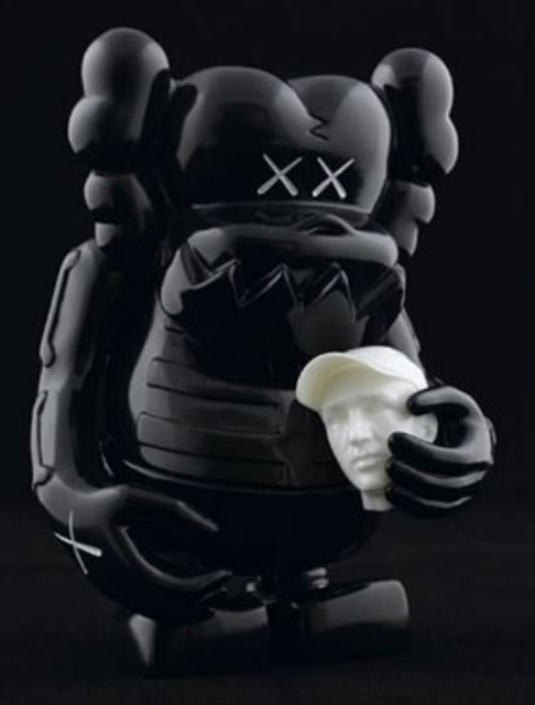 KAWS, 'KAWS X BOUNTY HUNTER SKULL KUN BLACK', 2006, Marcel Katz Art