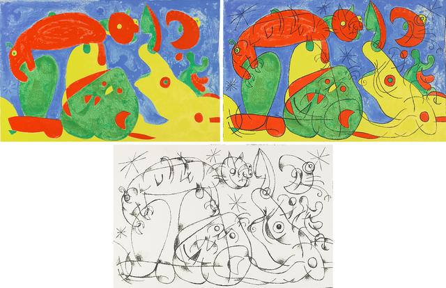 Joan Miró, 'Suites pour Ubu Roi', 1966, Rago/Wright