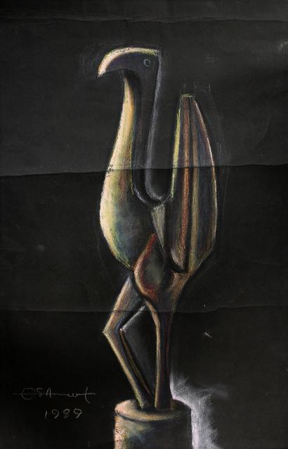 , 'Untitled (Bird),' 1989, TAFETA