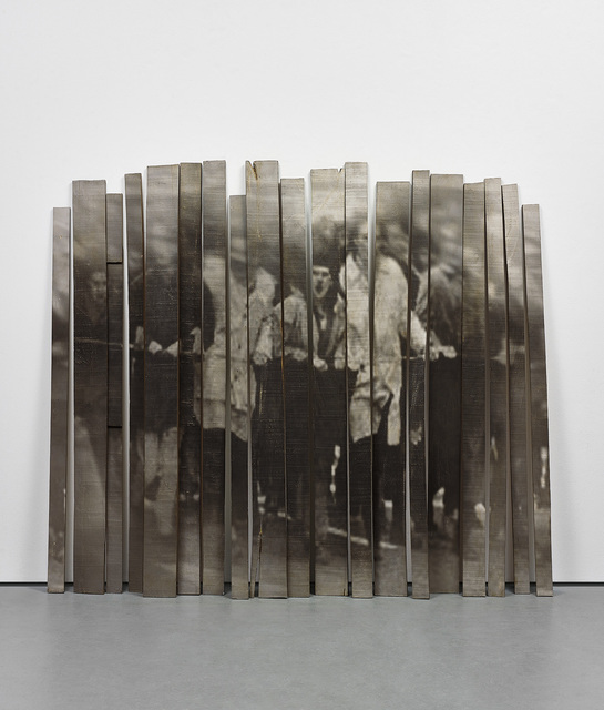 Graciela Sacco, 'Adelante [Ahead] from Cuerpo a cuerpo [Body to Body]', 2015, Photography, Unique installation, comprising photographic emulsion on 19 wooden planks., Phillips