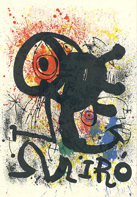 Joan Miró, 'Sculptures et céramiques', 1973, Sylvan Cole Gallery