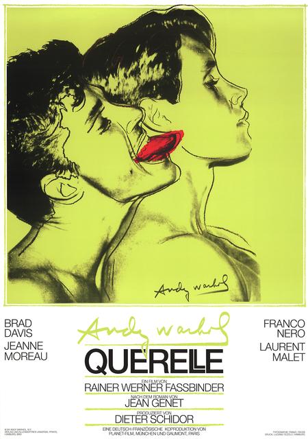 Andy Warhol, 'Querelle Green', 1983, Ephemera or Merchandise, Offset Lithograph, ArtWise