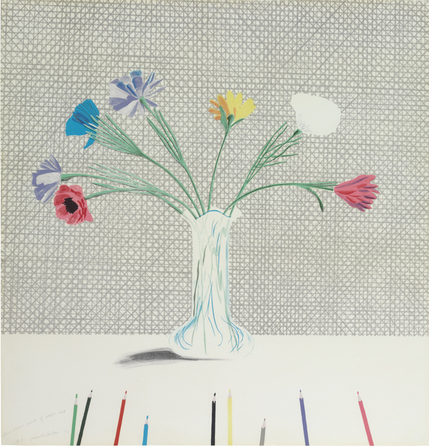 , 'Coloured Flowers Made of Paper and Ink,' 1971, ARCHEUS/POST-MODERN