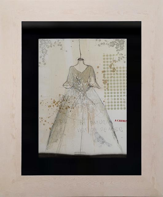 , 'Mi pintura vestida de mujer I,' 2017, Lux Perpetua Art Centre
