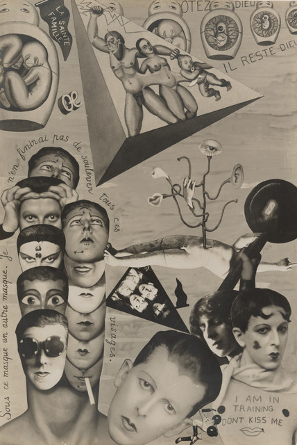 Claude Cahun, 'I.O.U. (Self-Pride)', 1929-1930, San Jose Museum of Art