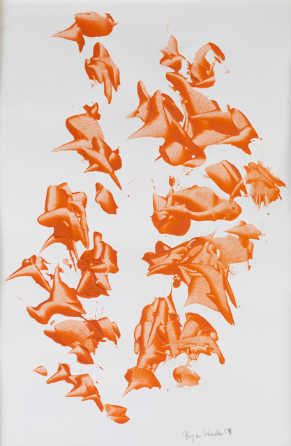 Bryan Kneale, 'Orange Expressions ', 2018, Pangolin London