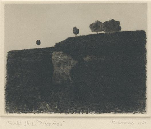 , 'Klippvaag (Cliff Face),' 1969, Pucker Gallery