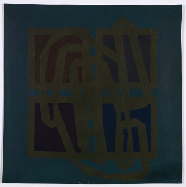 Robyn Denny, '4 (3)', 1963, Bernard Jacobson Gallery