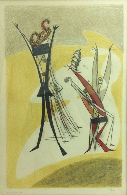 , 'Rhythmes,' 1950, Isselbacher Gallery