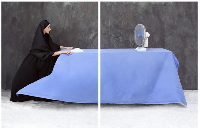 , 'Salt Wind, Annunciazione,' 2013, Hafez Gallery