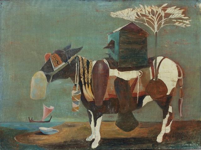 Paton Miller, 'Donkey Caravan', unknown, Sara Nightingale Gallery