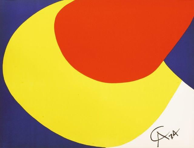 Alexander Calder, 'A CONVECTION; BEASTIE', 1974, Sworders