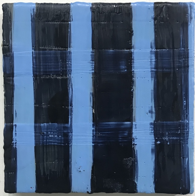 Amy Weil, 'Midnight Blues', 2020, Painting, Encaustic on wood, 440 Gallery