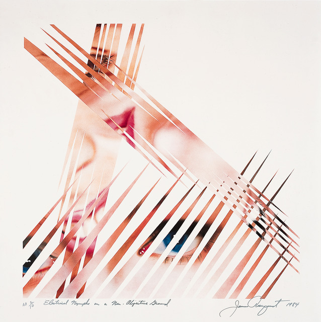 , 'Electrical Nymphs on a Non-Objective Ground,' 1984, Universal Limited Art Editions
