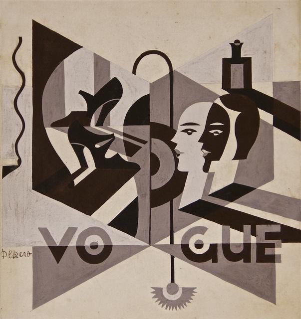 Fortunato Depero, 'Vogue', 1929 ca., Wallector