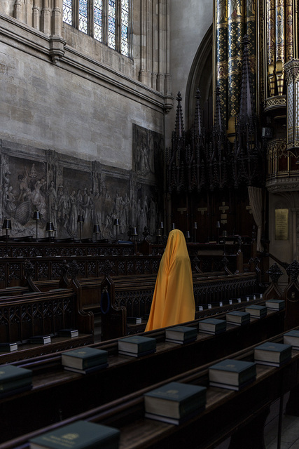 , 'Woman at Eton College Chapel (V),' 2016, Karavil Contemporary