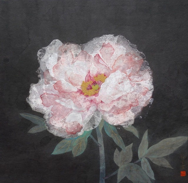 , 'a winter-flowering peony,' 2018, SEIZAN Gallery