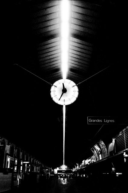Jehsong Baak, '25 to midnight at Gare St. Lazare', 1998, Photography, Photography, FREMIN GALLERY