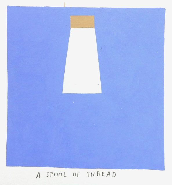 , 'a spool of thread,' 2017, Uprise Art