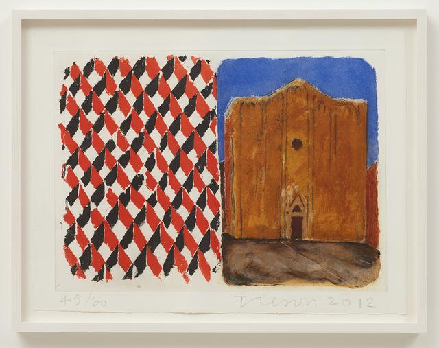 , 'Stones of Venice Sant Alvise, Diptych,' 2012, Cristea Roberts Gallery