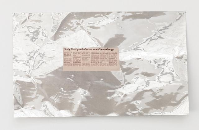 , ''Study finds proof of man-made climate change' (2008),' 2014, KÖNIG GALERIE