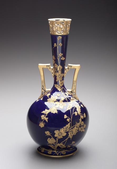 , 'Vase; Greenwood Art Pottery Company, Trenton,' ca. 1880, Newark Museum