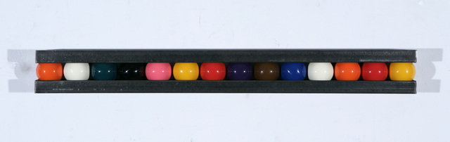 , 'Untitled (snooker balls),' 2010, Flowers