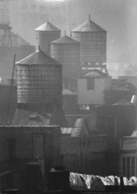 , 'New York, October 27, 1961 (water tower),' 1961, James Hyman Gallery