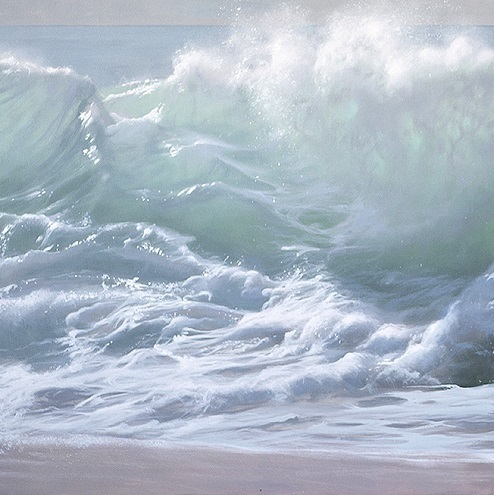 , 'the foam of the waves, part 1 of a diptych,' , GALERIA JORDI BARNADAS