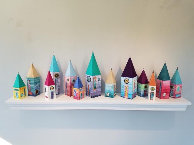 Jackie de Ruyter, 'Small Houses', 2019, Miller White Fine Arts
