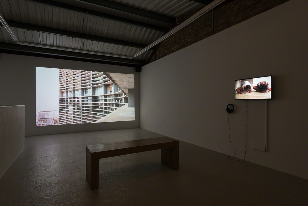 Installation view, Group Show 'Concrete Jungle'(curated by Alexandra White) at Annka Kultys Gallery, London, 2017 Photo: Annka Kultys Gallery (Damian Griffiths)