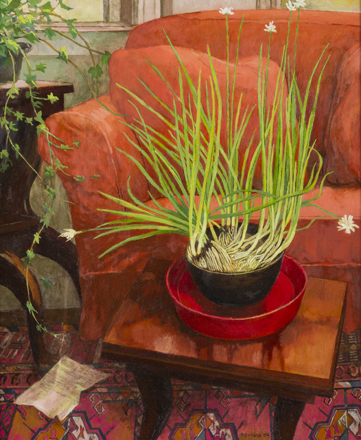 , 'Paperwhites and Red Chair,' 2004, Childs Gallery