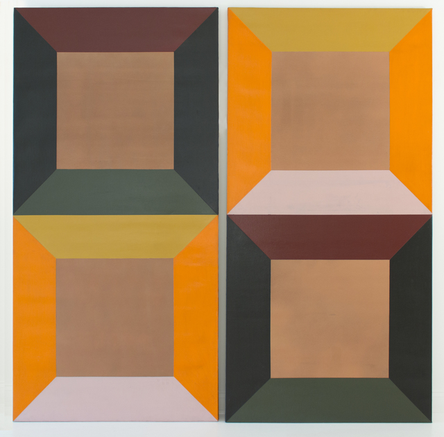 , 'Camera Obscura (diptych),' 1966, Eric Firestone Gallery