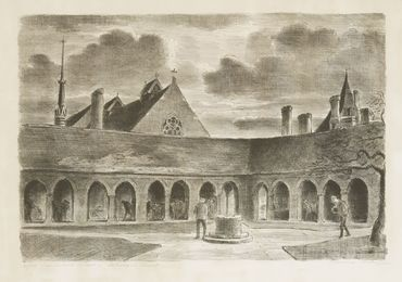 The Old Charterhouse; Charterhouse School - Scholar'S Court