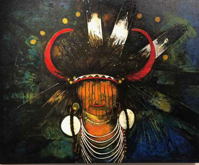 , 'Yellow Hawk,' , Sorrel Sky Gallery