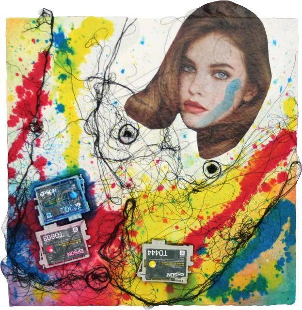 , 'Epson Girl #1,' 2010, Dieu Donné