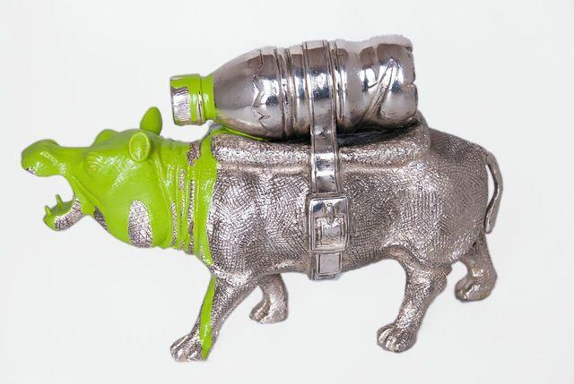 , 'Cloned Hippo,' 2012, Galleria Ca' d'Oro