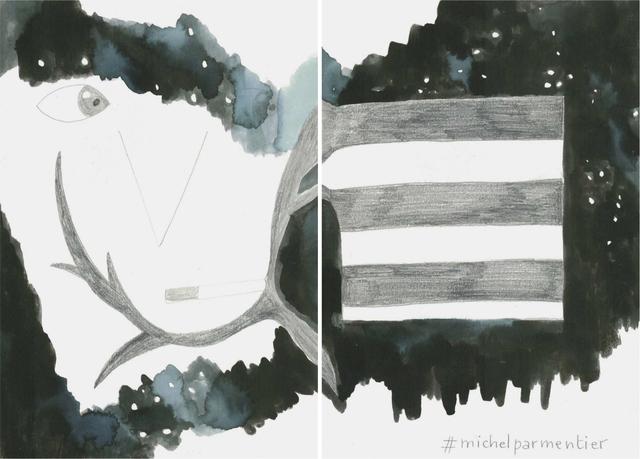 , 'La noche es nuestra (#michelparmentier),' 2018, Estrany - De La Mota