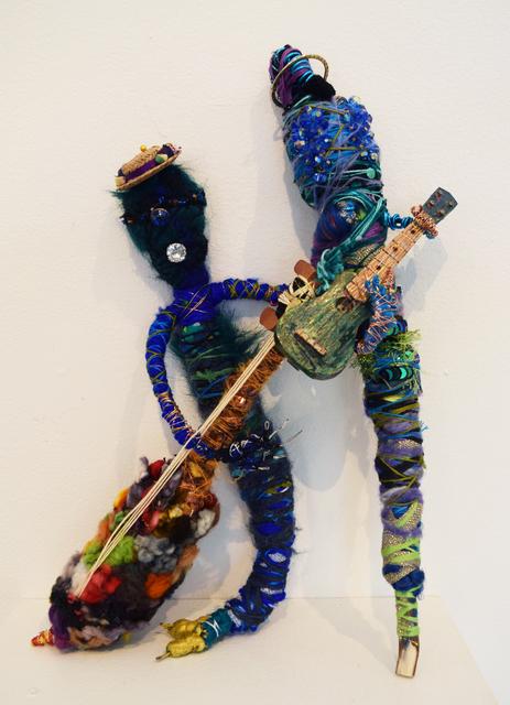 Angela Rogers, 'Joni on Guitar and Paulina on Bass', 2019, Fountain House Gallery